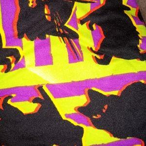 NEW Lularoe sz TC2 Halloween XRay Cats Leggings